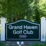 Grand Haven golf club sign
