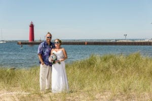 Beach-Wedding-Muskegon-Tie-Dyed-Haggars-Hideaway-Muskegon-Country-Club-Trolly-014