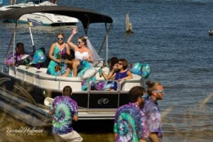 Beach-Wedding-Muskegon-Tie-Dyed-Haggars-Hideaway-Muskegon-Country-Club-Trolly-023