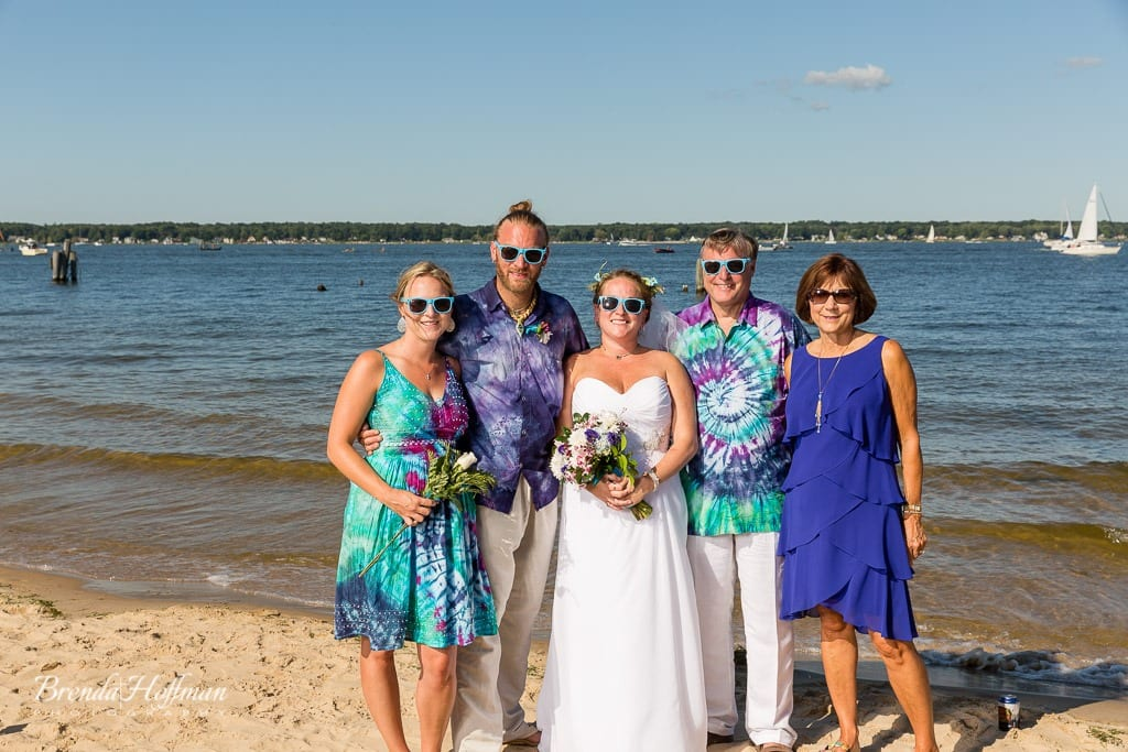 beach-wedding-muskegon-tie-dyed-haggars-hideaway-muskegon-country-club-trolly-037