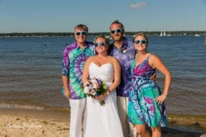 Beach-Wedding-Muskegon-Tie-Dyed-Haggars-Hideaway-Muskegon-Country-Club-Trolly-039