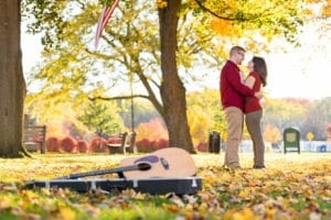 Grand-Haven-Central-Park-Engagment-fall-guitar (18)