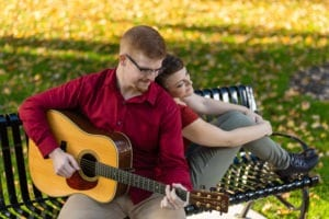 Grand-Haven-Central-Park-Engagment-fall-guitar (30)