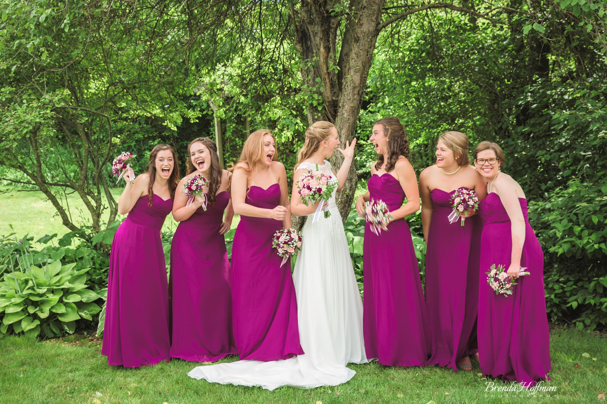 How to choose bridesmaids dresses brenda hoffman photography this could allow you to pick out designer brands at an affordable price also your bridesmaids wont be stuck with a dress that they will never wear again ombrellifo Gallery