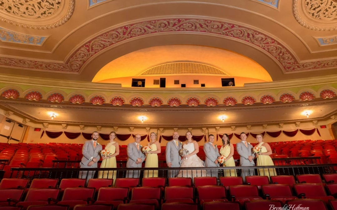 Frauenthal Theater Wedding – Muskegon, MI