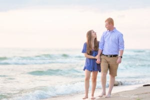 Beach Sunset Engagement Session 10 of 14