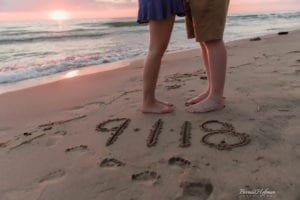 Beach Sunset Engagement Session 14 of 14