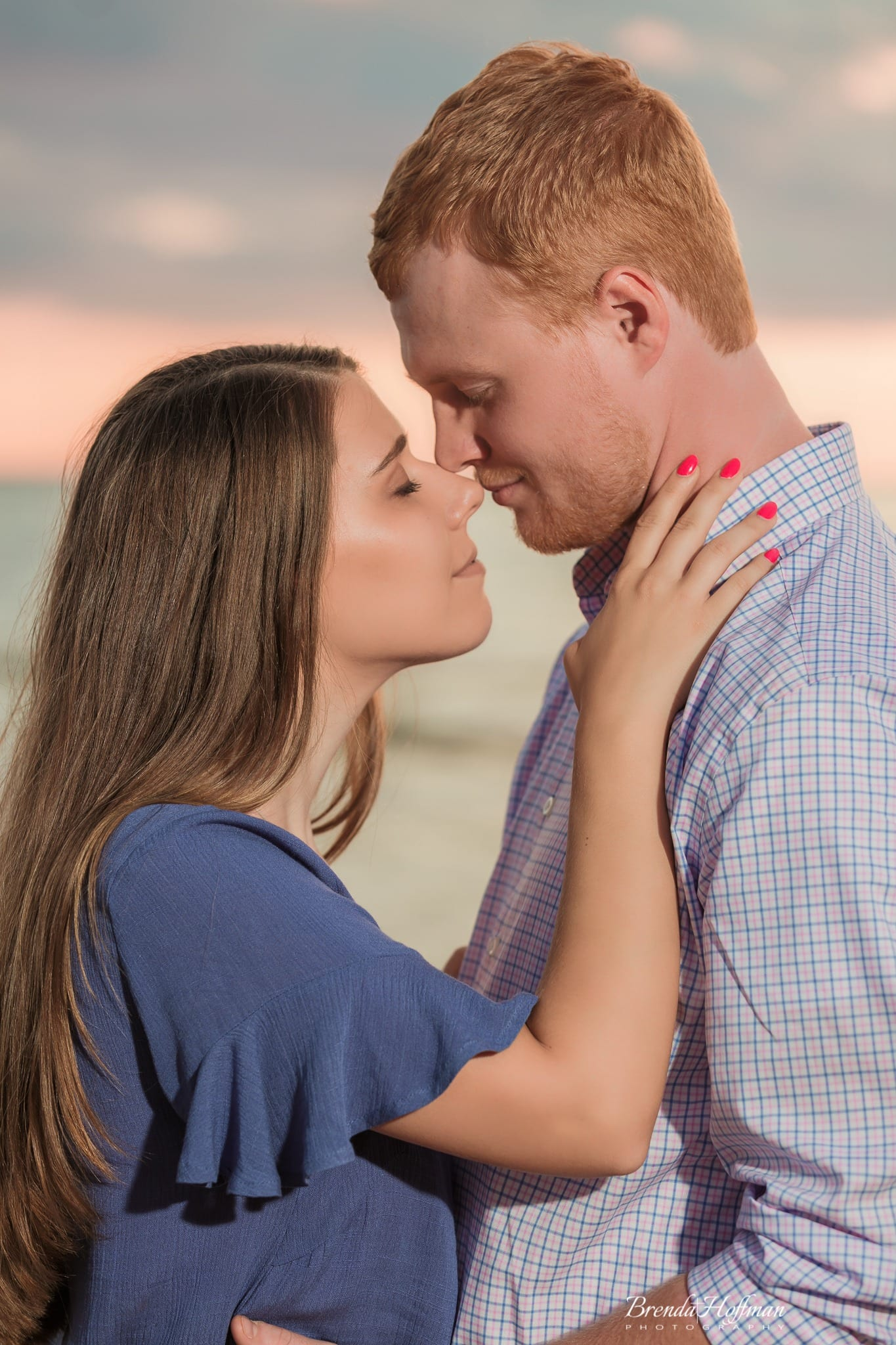 Beach-Sunset-Engagement-Session (7 of 14)