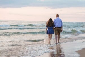 Beach Sunset Engagement Session 8 of 14
