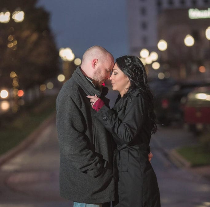 Downtown Muskegon Engagement Session