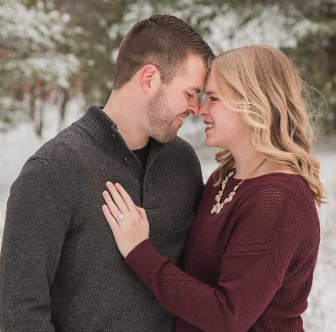 Hoffmaster Winter Engagement Session