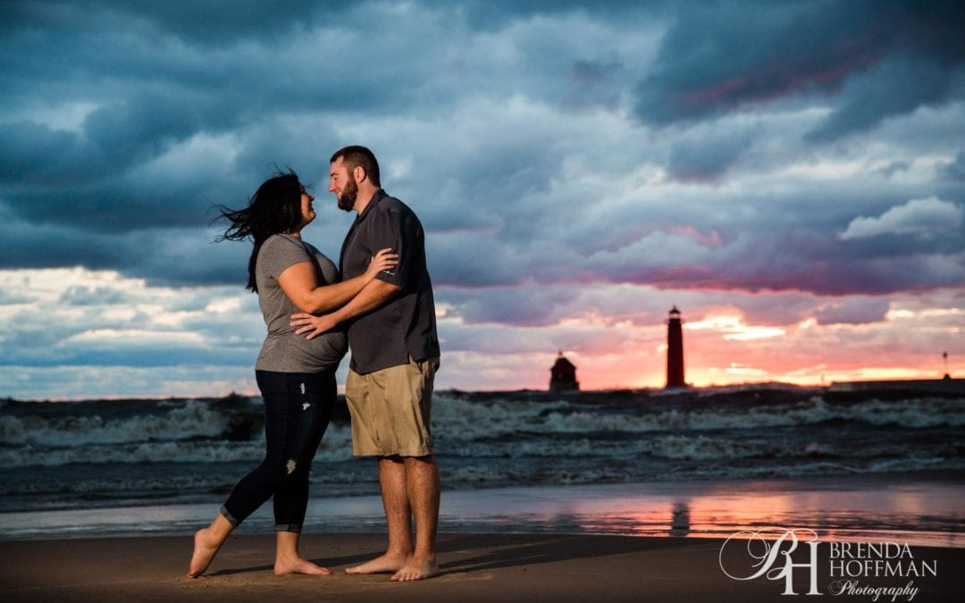 Grand Haven State Park Engagement | Grand Haven Pier