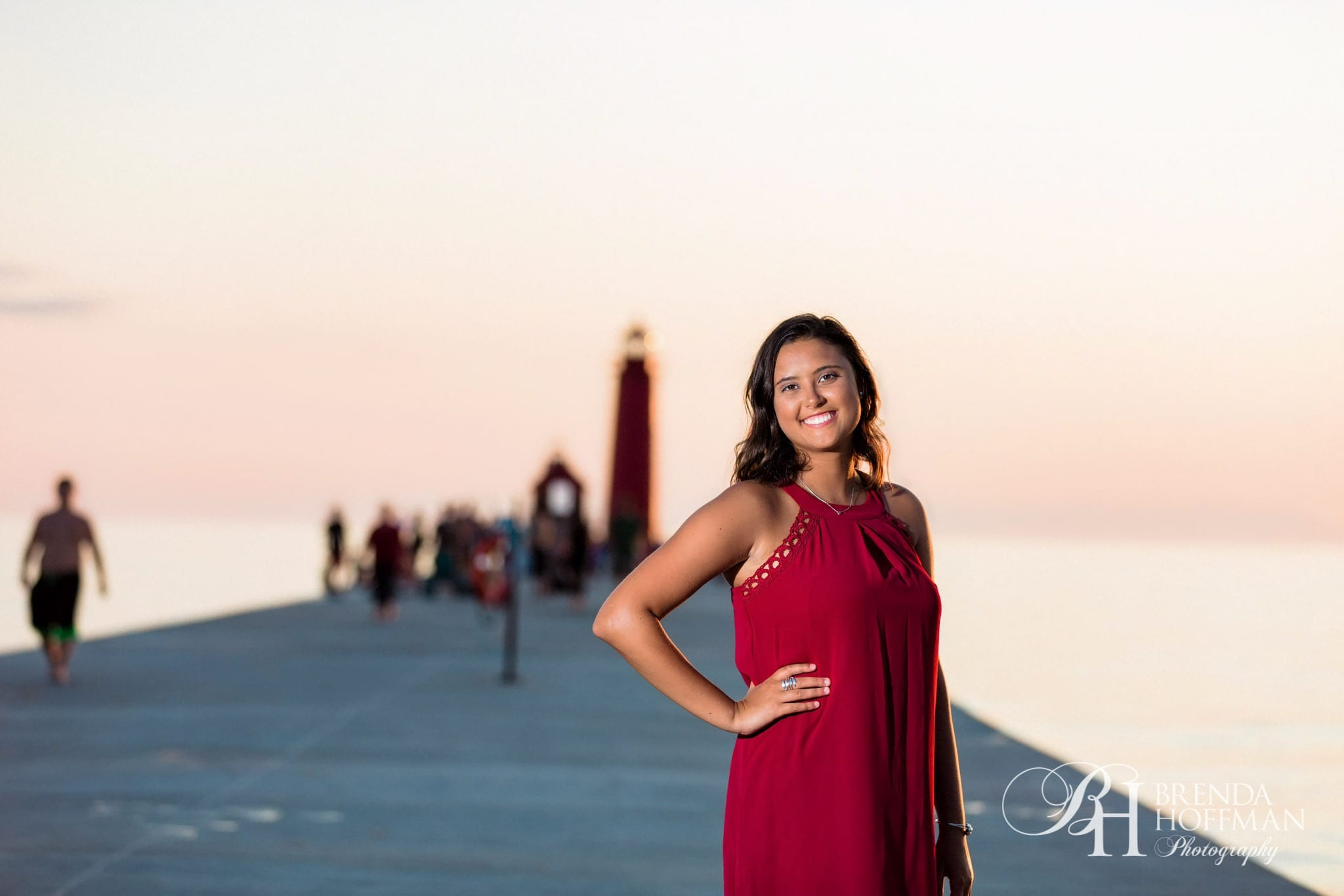 Grand Haven Michigan Senior Portraits Beach Ballet 06