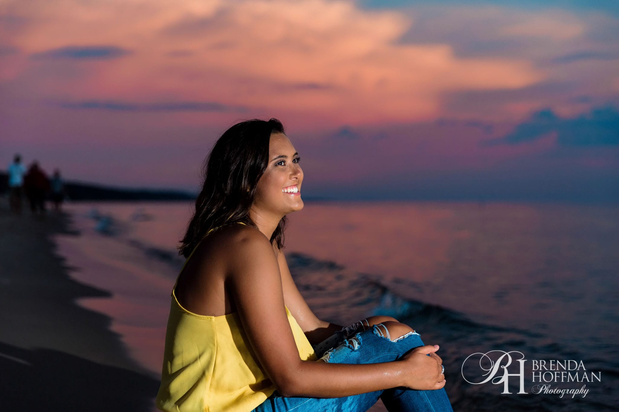 Grand Haven Michigan Senior Portraits Beach Ballet 08