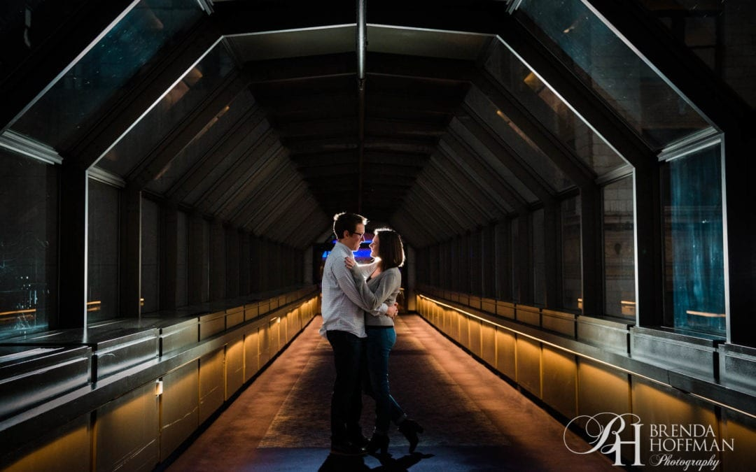 Grand Rapids MI | Modern Engagement Session
