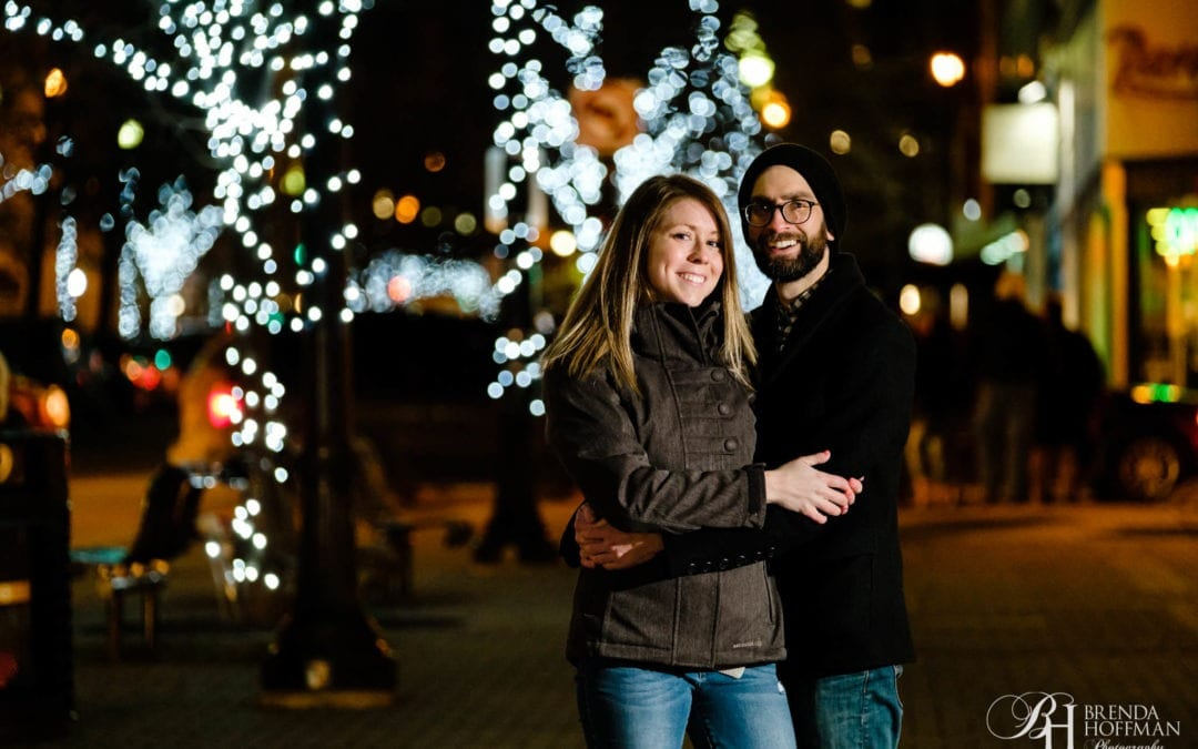 Grand Rapids Michigan | Downtown Engagement Session
