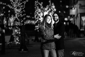 Downtown Grand Rapids Night Engagement 7