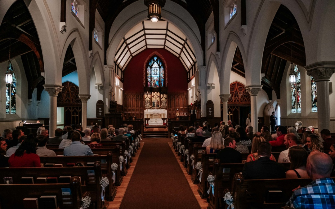 St Paul's Episcopal Church Wedding | Muskegon MI