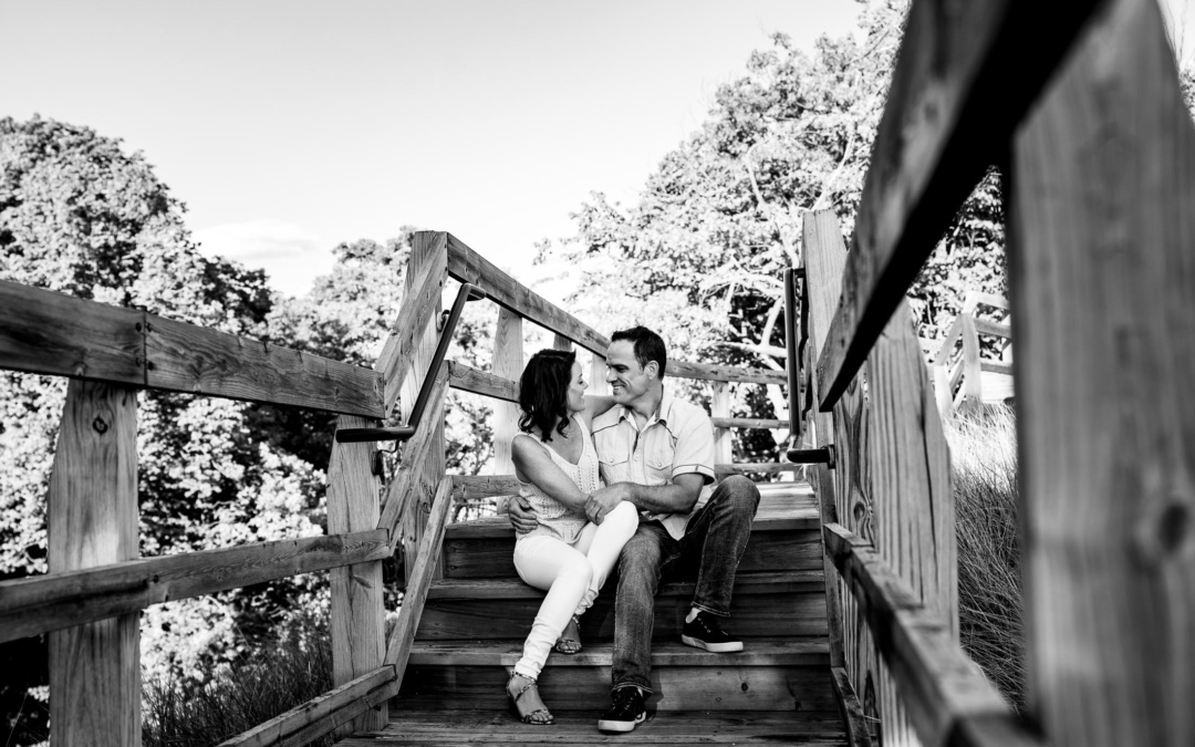 Grand Haven North Beach Park | Engagement Session