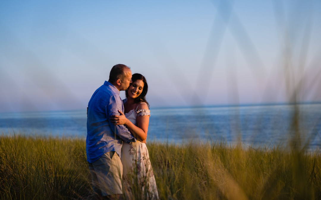 Grand Haven Beach Dunes | Engagement Session
