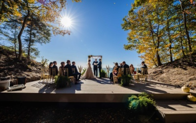 Wedding Overlooking Lake Michigan | Whitehall MI